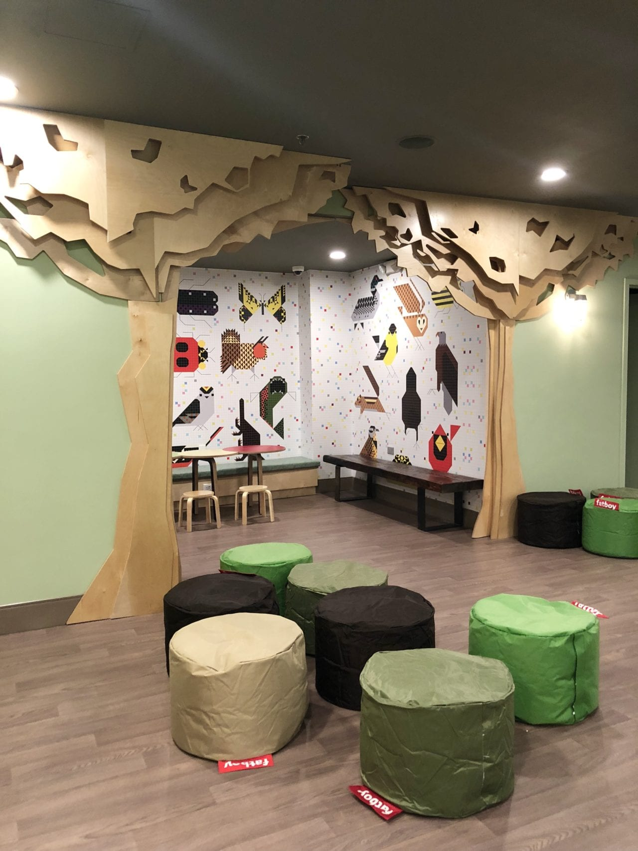 Indoor & Outdoor Children's Play Areas