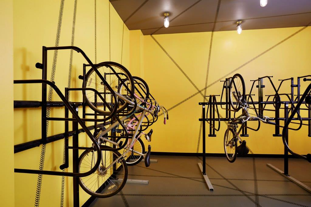 Bicycle Storage Room (one per apartment)